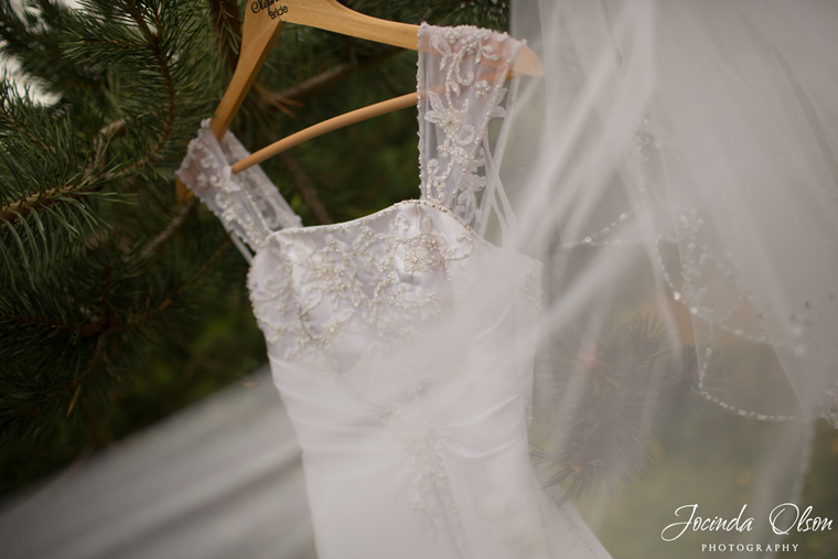White David's Bridal Wedding dress