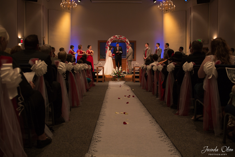 Wedding at East Hill Baptist Church in Kent Washington