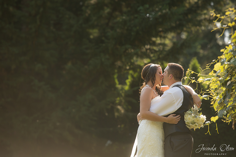 Portrait of Bride and Groom at Maroni Meadow